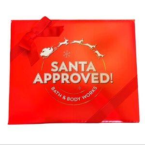 NIB Bath & Body Works Santa Approved Gift Set